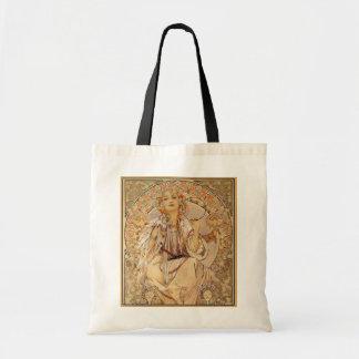 Alphonse Mucha - Slavia Tote Bag