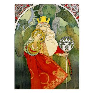 Alphonse Mucha Sokol Festival Postcard