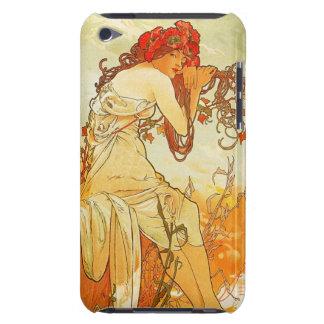 Alphonse Mucha Summer iPod Touch Case