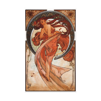 Alphonse Mucha The Dance Canvas Print