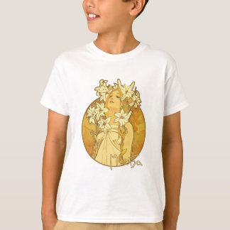 Alphonse Mucha - The Flowers T-Shirt
