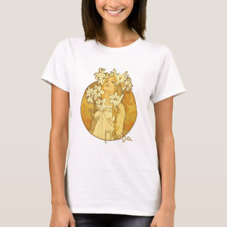 Alphonse Mucha - The Flowers T-Shirt