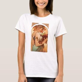 Alphonse Mucha - The Fruits T-Shirt