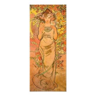 Alphonse Mucha The Rose Print Photograph