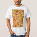 Alphonse Mucha The Rose T-shirt