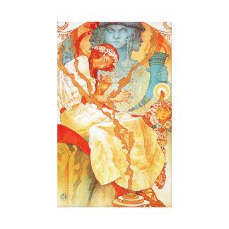 Alphonse Mucha The Slav Epic Canvas Print