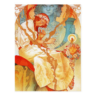 Alphonse Mucha The Slav Epic postcard
