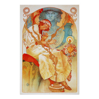 Alphonse Mucha The Slav Epic Poster