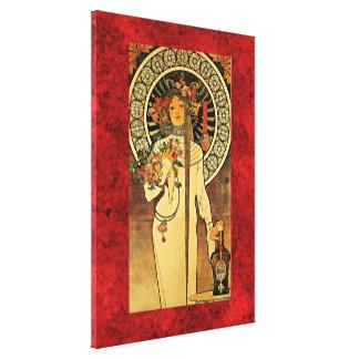 Alphonse Mucha: The Trappistine Canvas Print