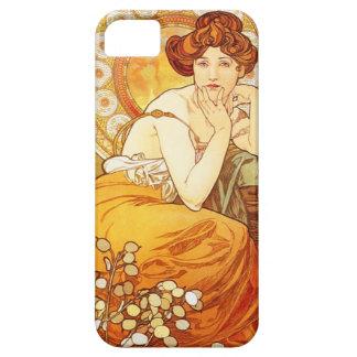 Alphonse Mucha Topaz iPhone 5 Case
