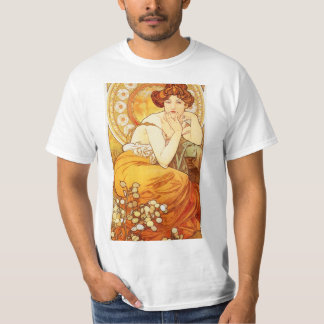 Alphonse Mucha Topaz T-shirt