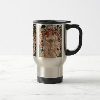 Alphonse Mucha Travel Mug