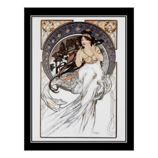 Alphonse Mucha Vintage poster french Posters