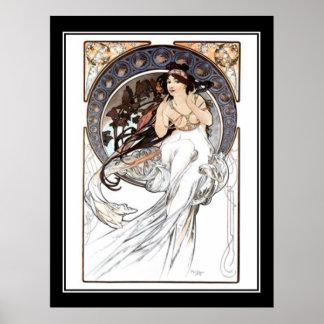 Alphonse Mucha Vintage poster french