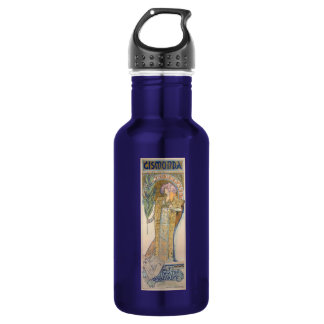 Alphonse Mucha Water Bottle