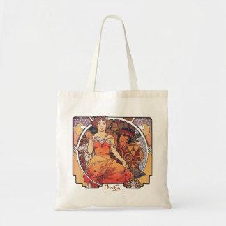 Alphonse Mucha -  World's Fair 1904  St. Louis Budget Tote Bag