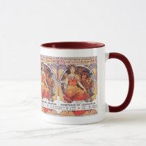 Alphonse Mucha -  World's Fair 1904  St. Louis Mug