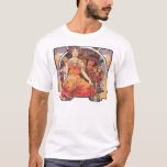 Alphonse Mucha -  World's Fair 1904  St. Louis T-Shirt