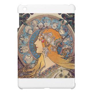 "Alphonse Mucha, ""Zodiac"" iPad Mini Case"
