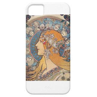 "Alphonse Mucha, ""Zodiac"" iPhone SE/5/5s Case"
