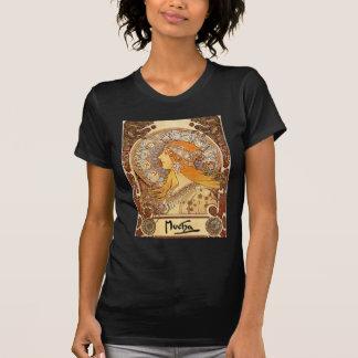 Alphonse Mucha - Zodiac T-shirt