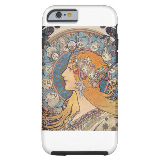 "Alphonse Mucha, ""Zodiac"" Tough iPhone 6 Case"