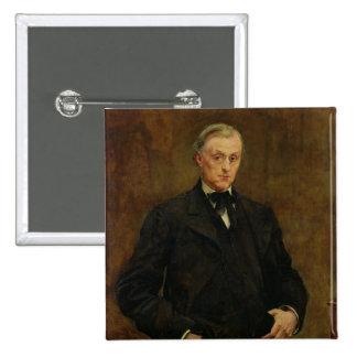 Alphonse Peyrat  1883 2 Inch Square Button