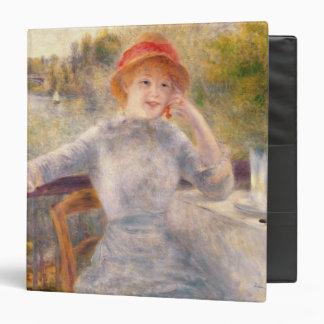 """Alphonsine Fournaise en el Grenouillere, 1879 Carpeta 1 1/2"""""""