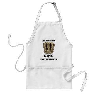 Alphorn King of Instruments Adult Apron