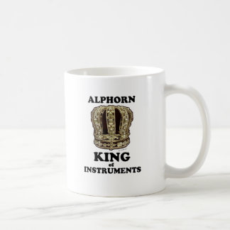 Alphorn King of Instruments Coffee Mug