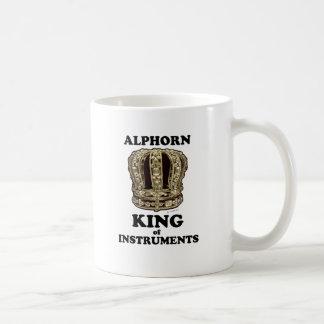 Alphorn King of Instruments Coffee Mug