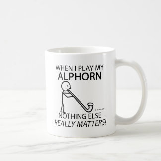 Alphorn Nothing Else Matters Coffee Mug
