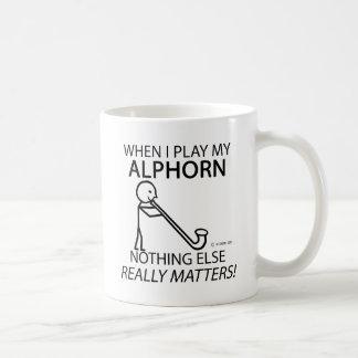Alphorn Nothing Else Matters Coffee Mug