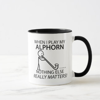 Alphorn Nothing Else Matters Mug