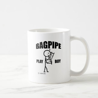 Alphorn Play Boy Coffee Mug