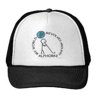 Alphorn - World Revolves Around Trucker Hat