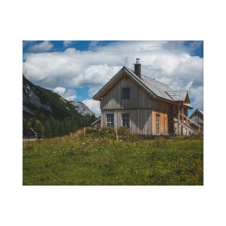 Alpin House Premium Wrapped Canvas (Gloss)