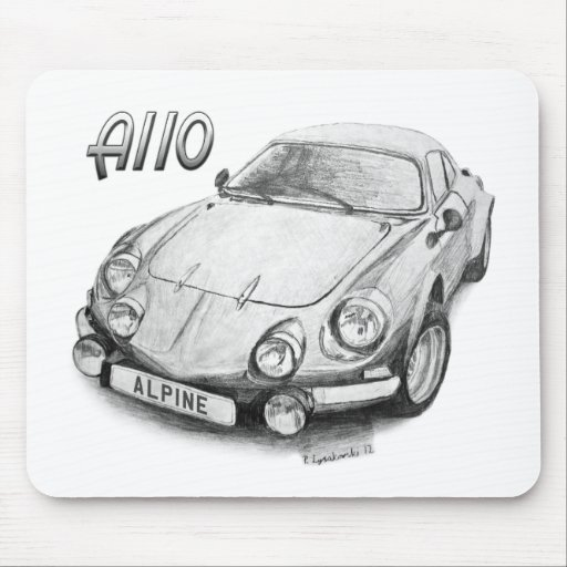 Alpine A110 Mouse Pad