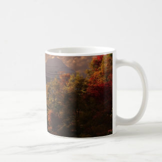 alpine autumn mug