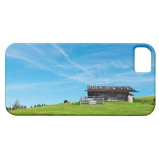 Alpine cabin in South Tyrol iPhone 5 Cover
