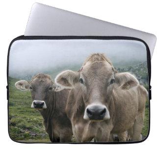 Alpine cow computer sleeve