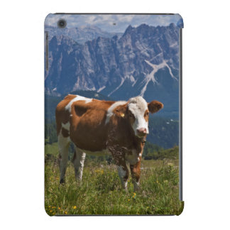 Alpine Cow in Meadow iPad Mini Case