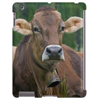 Alpine Cow iPad Case