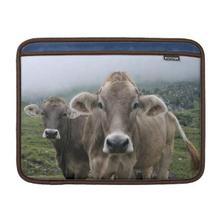 Alpine cow sleeve for MacBook air