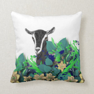 Alpine Dairy Goat Herd Name Goat Pillow