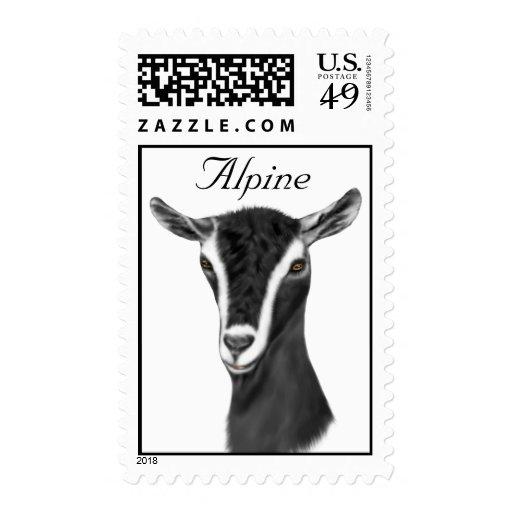 Alpine Dairy Goat  Postage