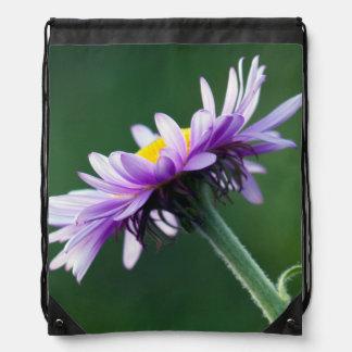 Alpine Daisy Drawstring Bag