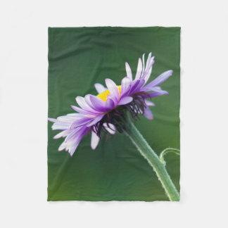 Alpine Daisy Fleece Blanket