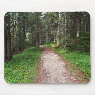 alpine forest mouse pad