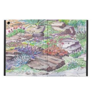 Alpine Garden Landscaping Case For iPad Air